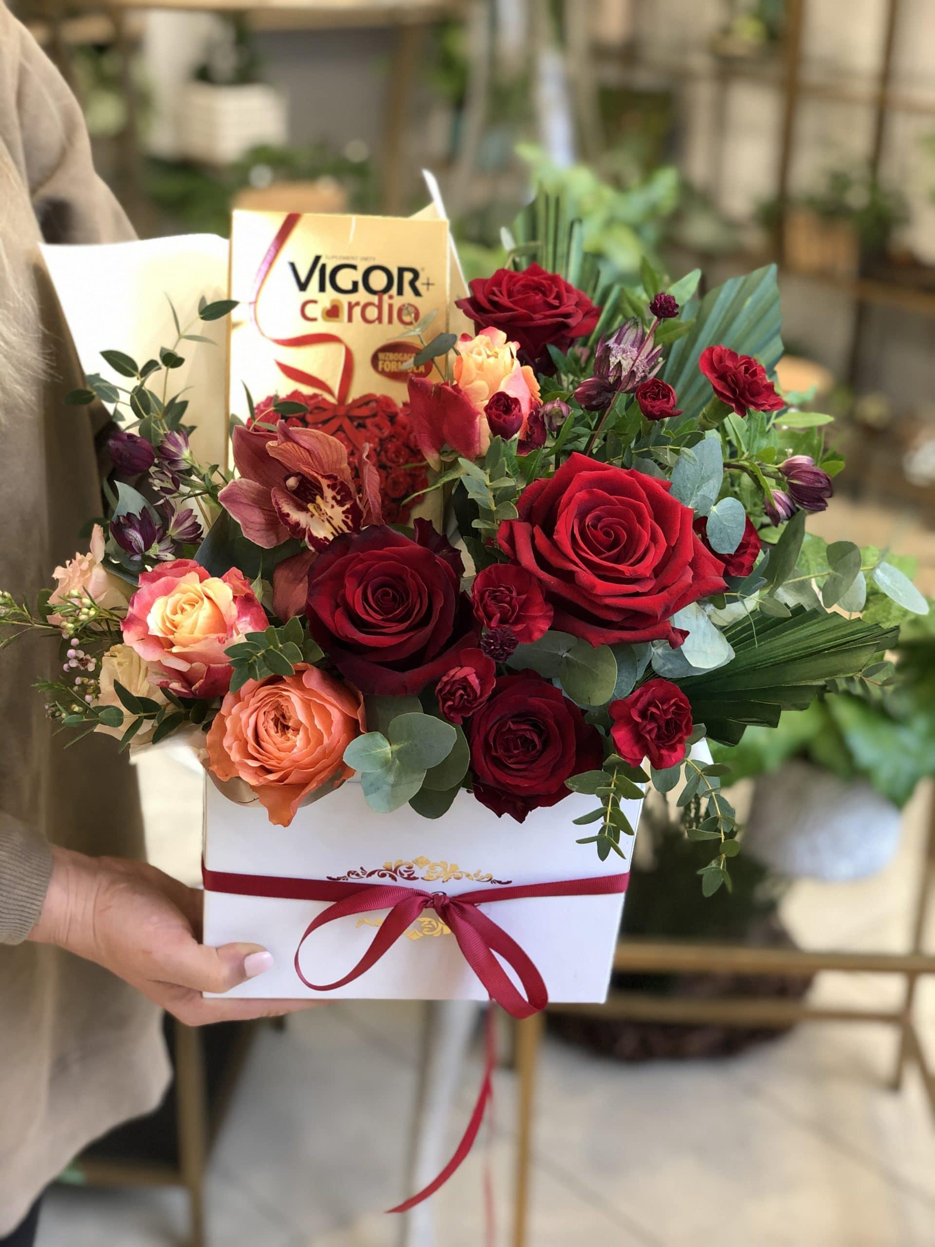 Flowerbox Vigor Cardio dla Babci i Dziadka