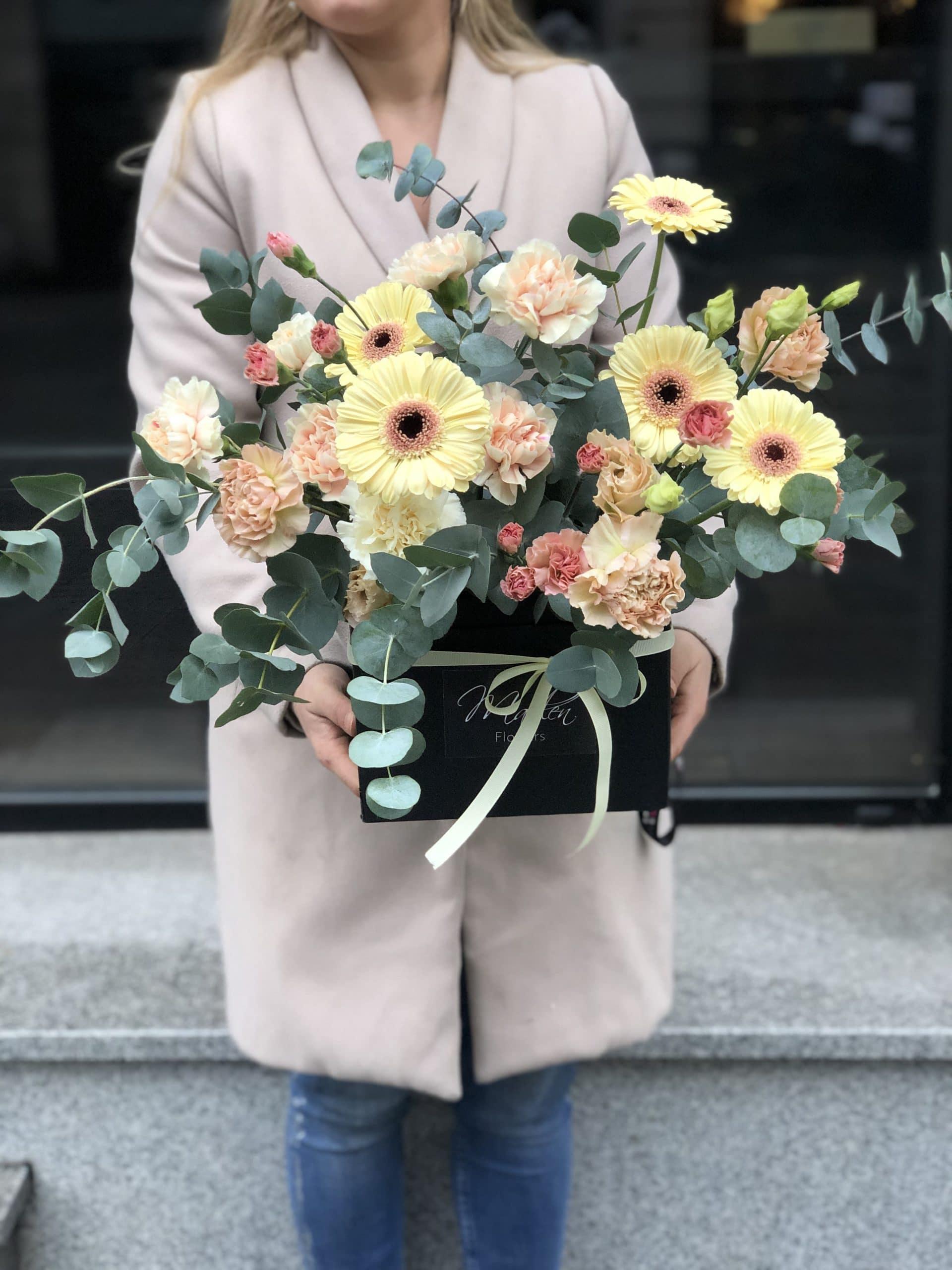 Flowerbox Intrygujący Gerber