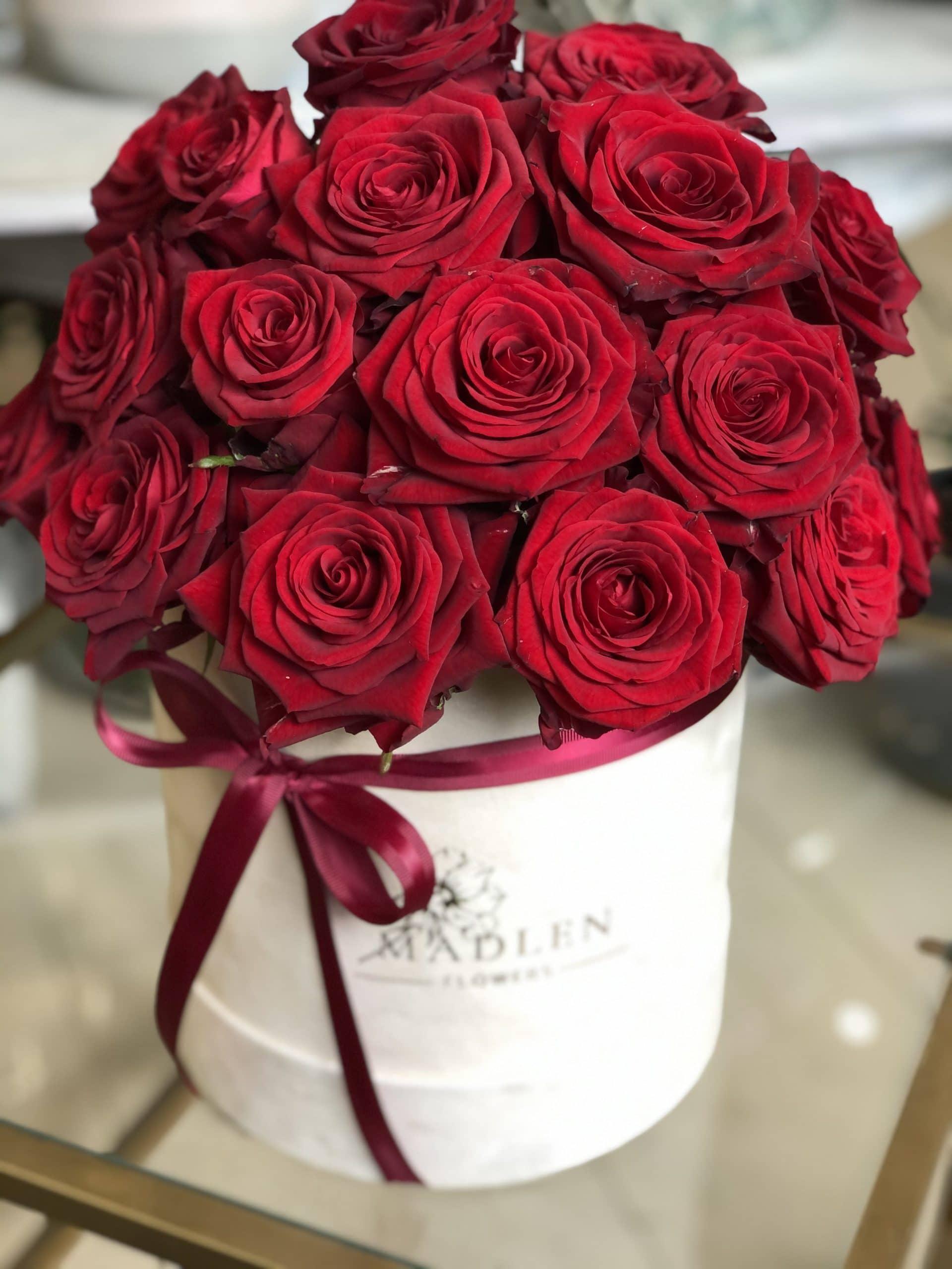 Flowerbox Czerwone Róże