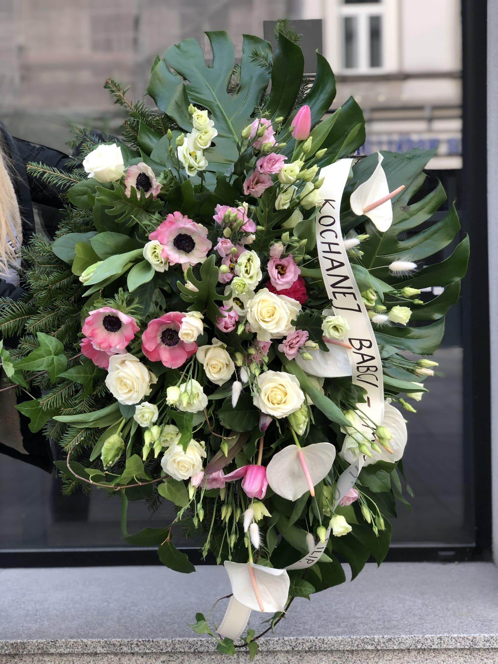 Kwiaty Na Pogrzeb Wience Pogrzebowe Madlen Katowice
