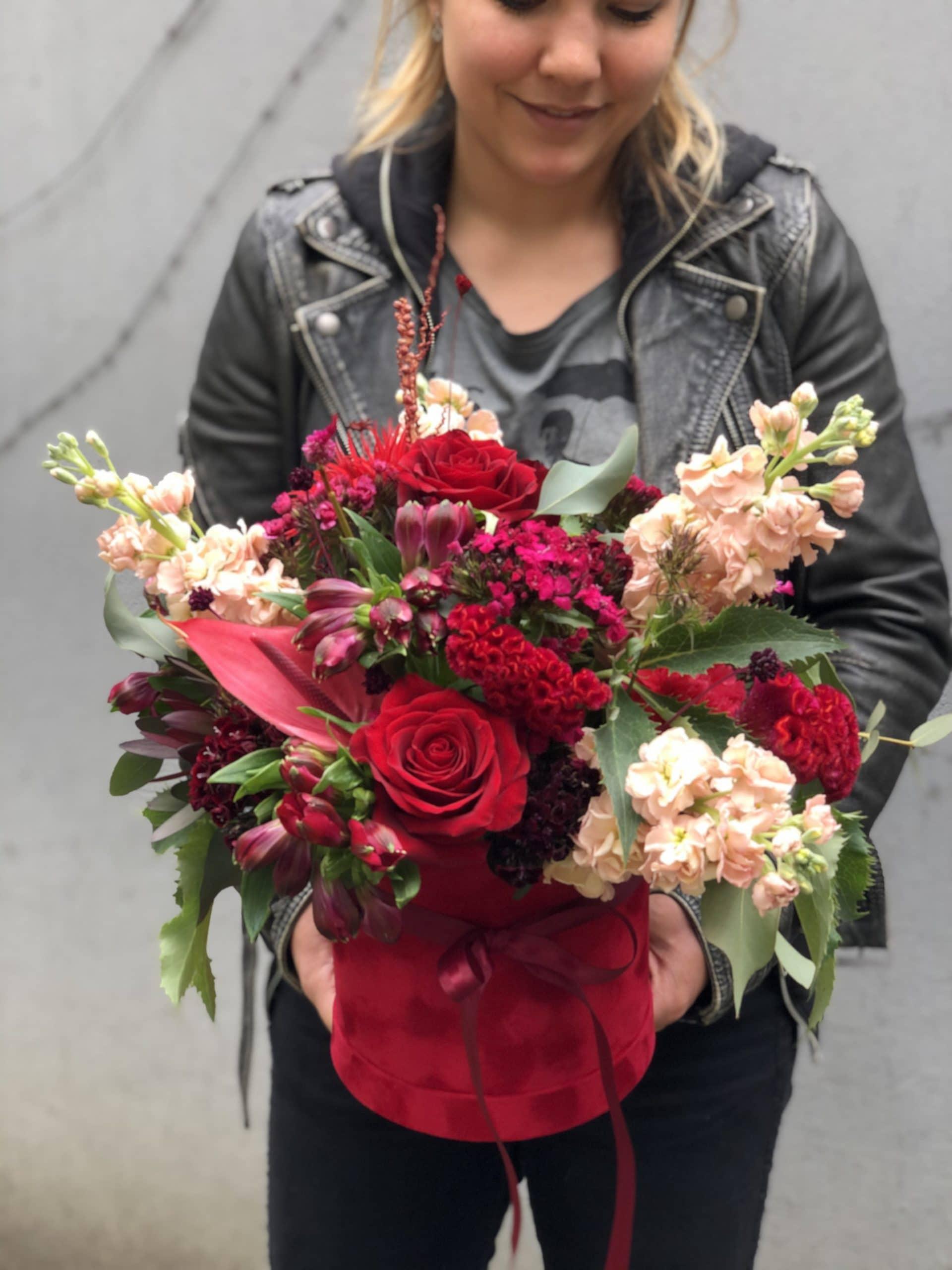 Flowerbox  Bordo