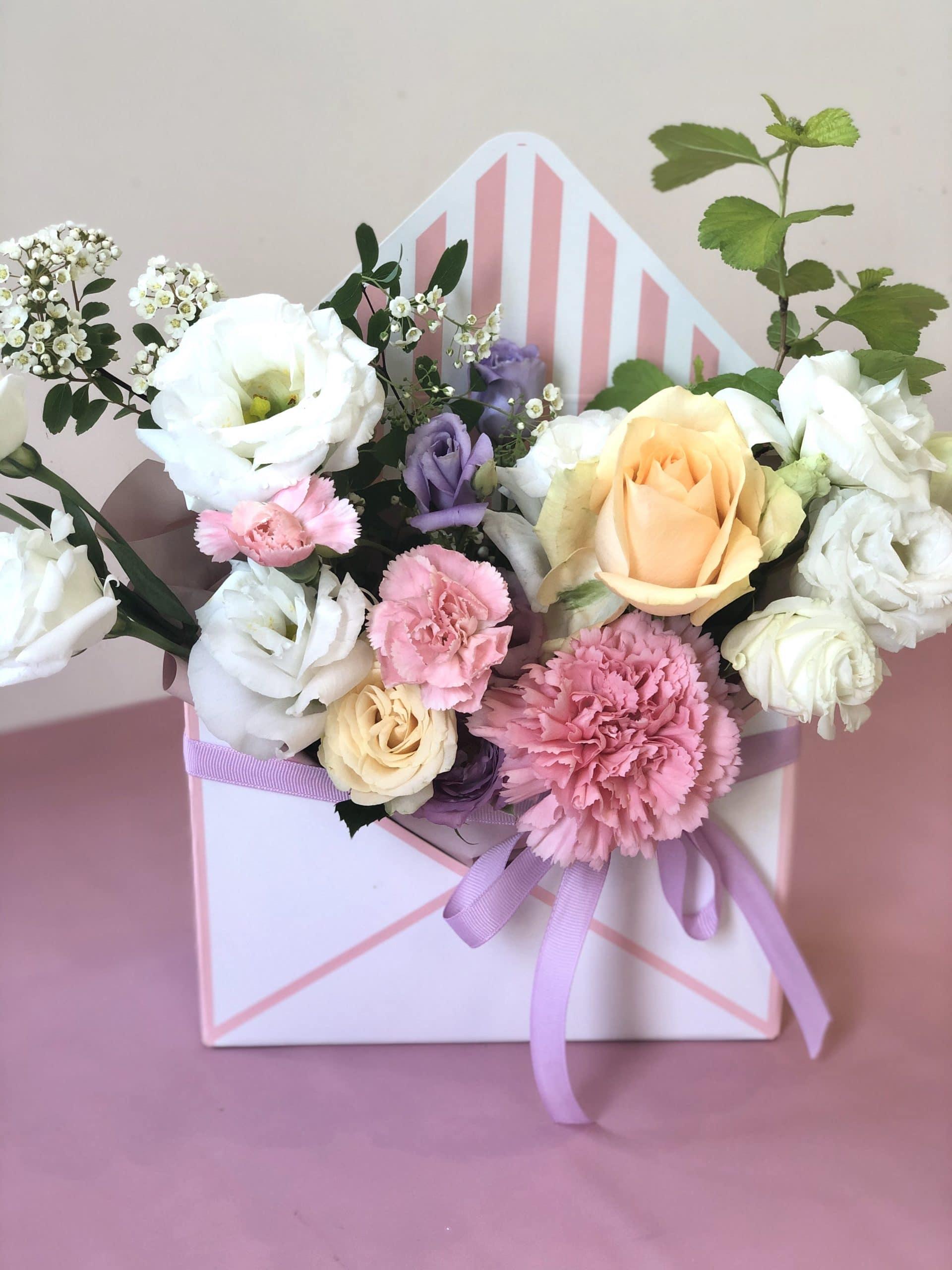 Koperta Kwiatów dla Mamy