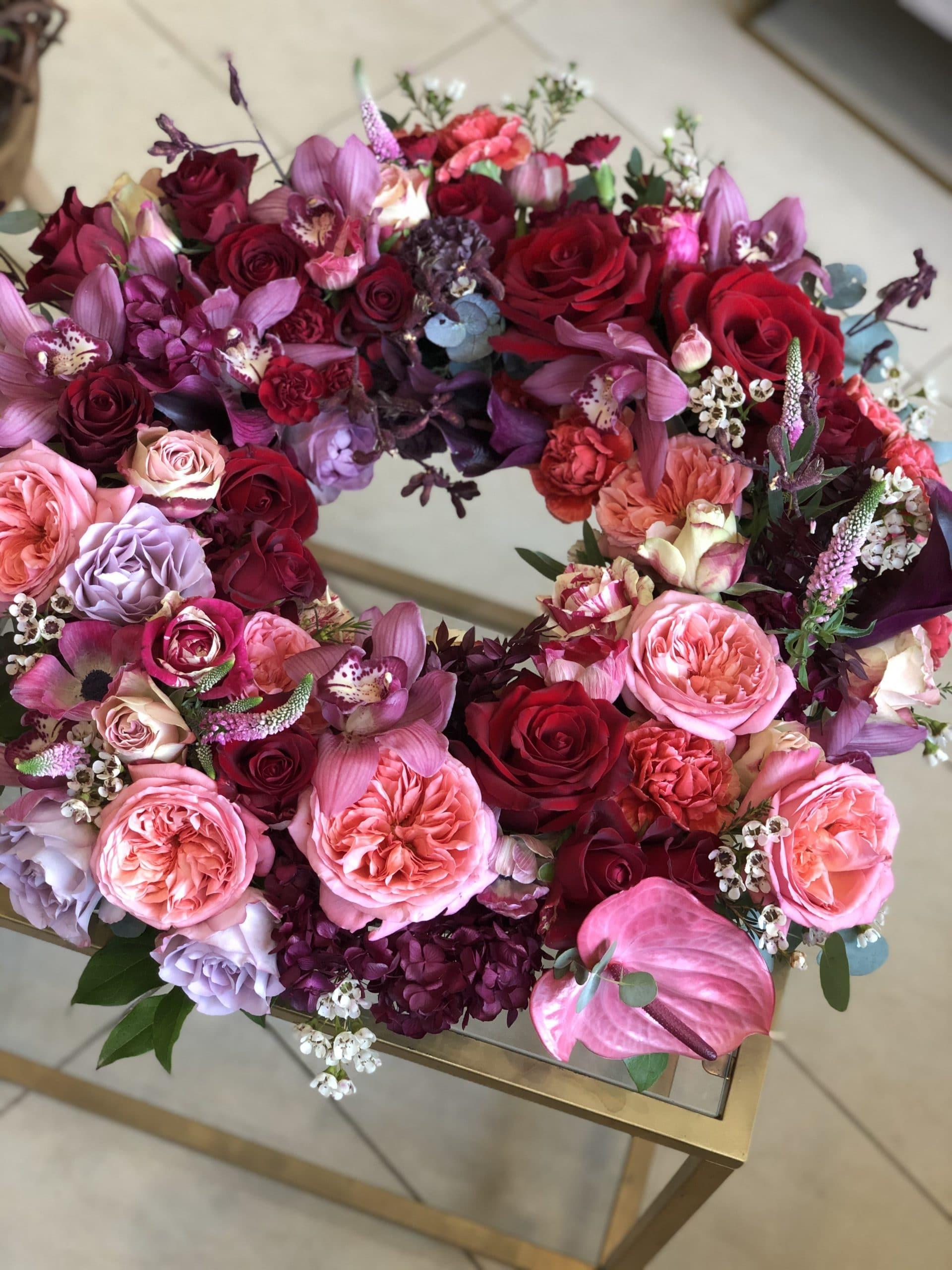 Wieniec w Różu